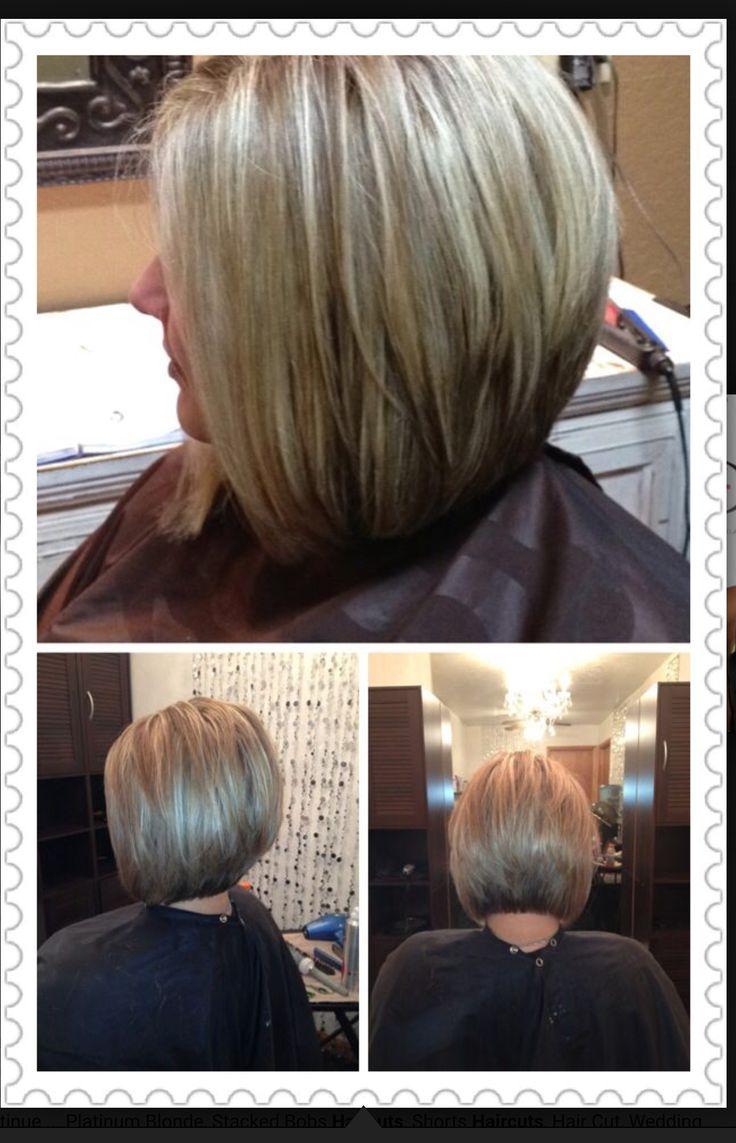 Bob Cut Hair, Hair Cuts, Diagonal Forward Haircut, Short Bobs, Hairstyles,  Hairdos, Short Hair, Color, Style Ideas