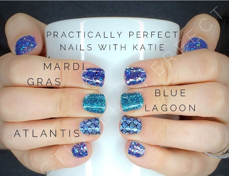 Blue Lagoon Atlantis Mardi Gras All Made Possible By The Endless Combos Of Color Street 100 Nail Polish Strips Color Street Nails Nails Nail Polish Strips