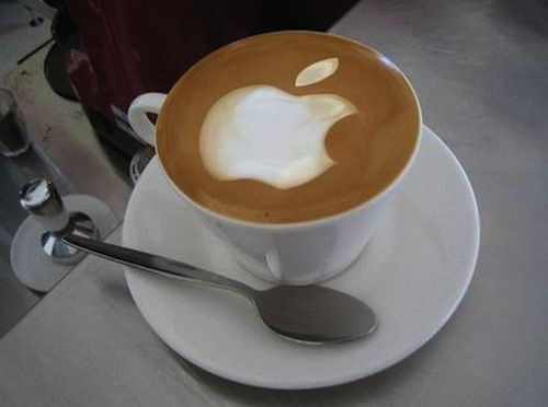Enjoy a coffee while you browse the internet.