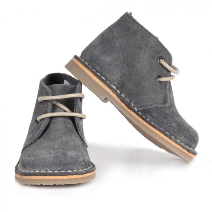 suede desert boot grey