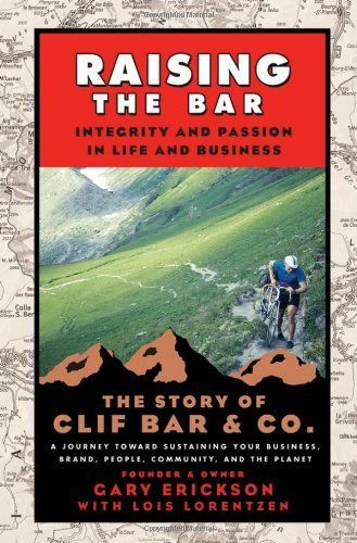 """""""Raising the Bar: Integrity and Passion in Life and Business: The Story of Clif Bar & Co.""""  Amazon Adventure sports snack brand Clif Bar was nearly sold by founder Gary Erickson, but he instead bought out his company to keep the company private and solely owned.    Read more: http://www.businessinsider.com/best-business-books-by-ceos-2014-8?op=1#ixzz3EyZKIRb0"""