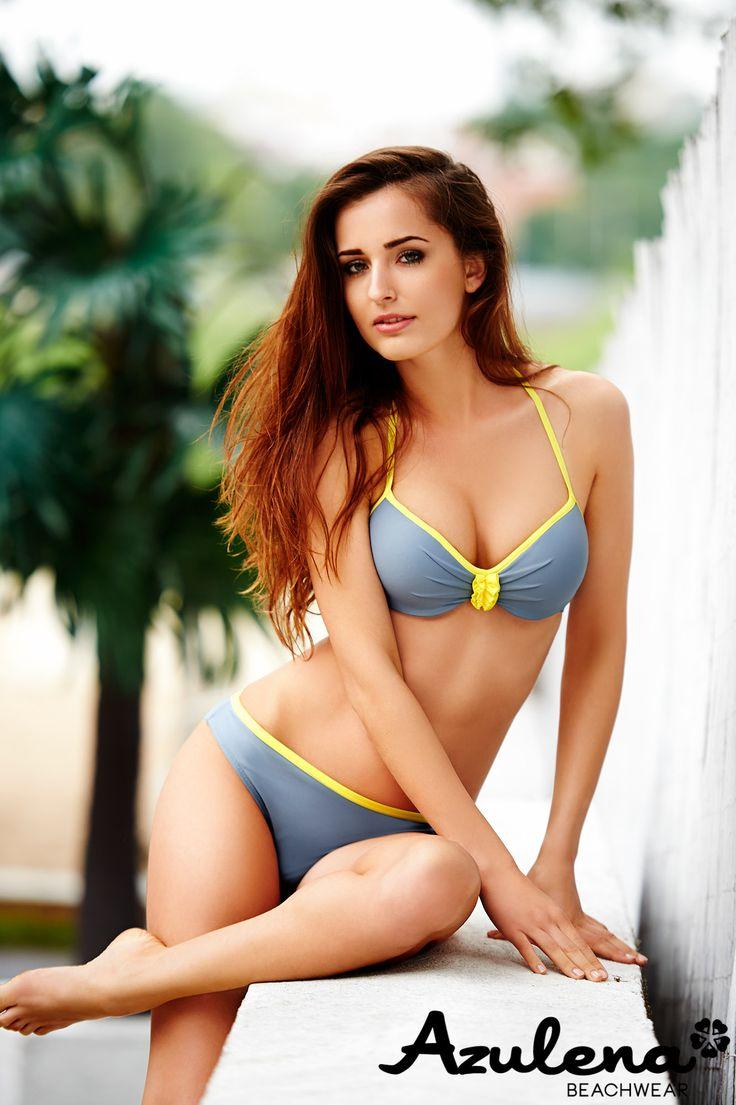 azulena Beachwear strój kapielowy bikini kostium wakacje palmy palma