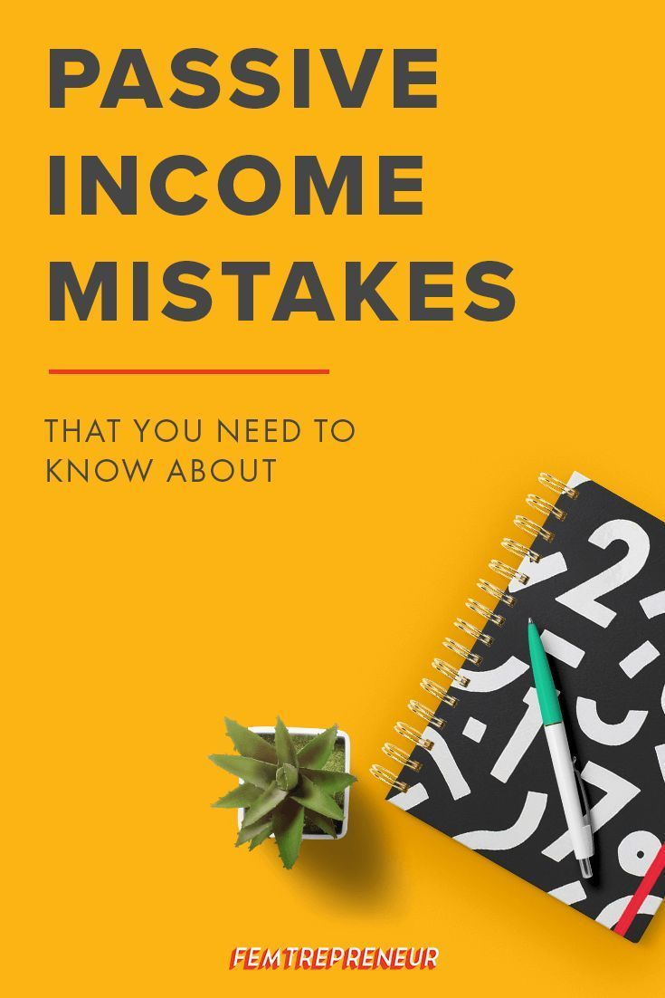 Passive income may seem cut and dry, but we have some passive income  mistakes to avoid!  Lucky for you we've been through it all and have the exact pitfalls and  misconceptions to avoid as you set up your passive income streams for your  business. You'll be better off as you set up your passiv