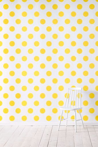 Wallpaper by ellos  Callie Solgul -tapetti. So great for a kid's room. Or even a nursery! A #CanDoBaby! fave.