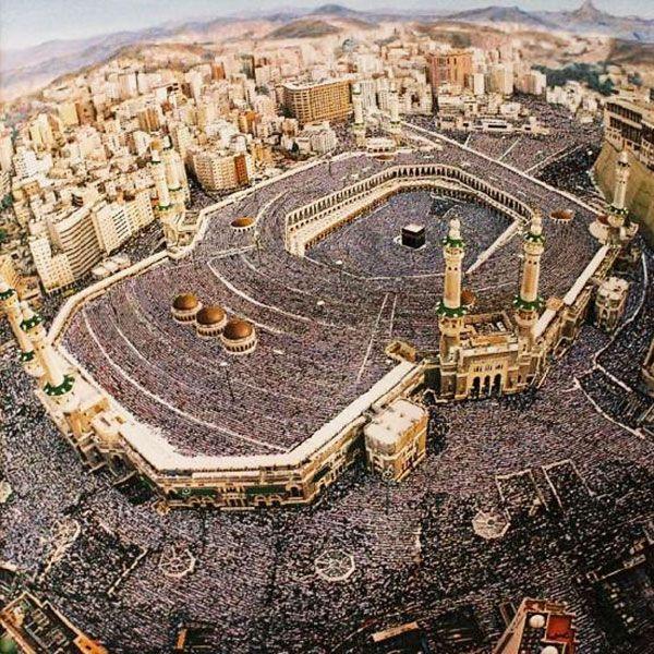 Kaaba in Makkah, Saudi Arabia