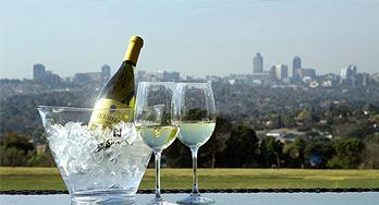 Sundowners and Dinner with One of the Best Views in Jozi!