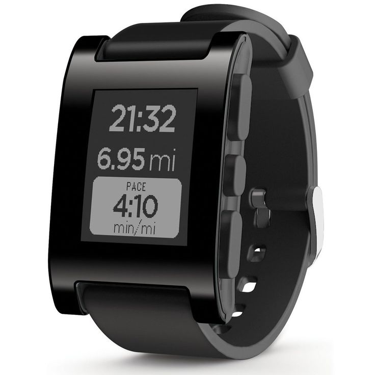 Pebble Smartwatch for iPhone and Android (Black): Graduation Gift