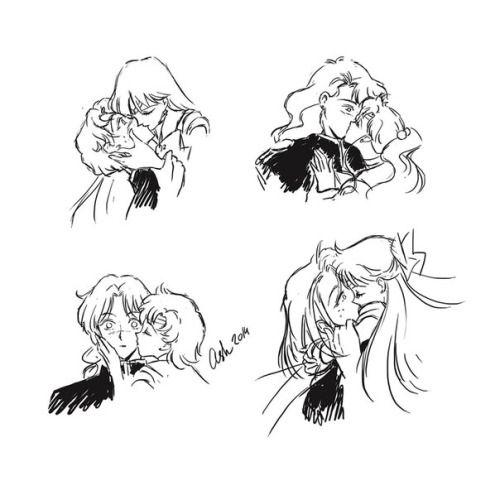 Kiss of Inner senshi