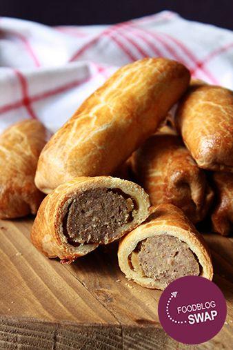 Foodblogswap: Worstenbroodjes