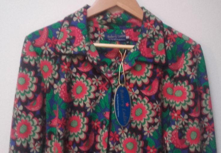 Bakery Ladies - Poloshirt blouse Flower