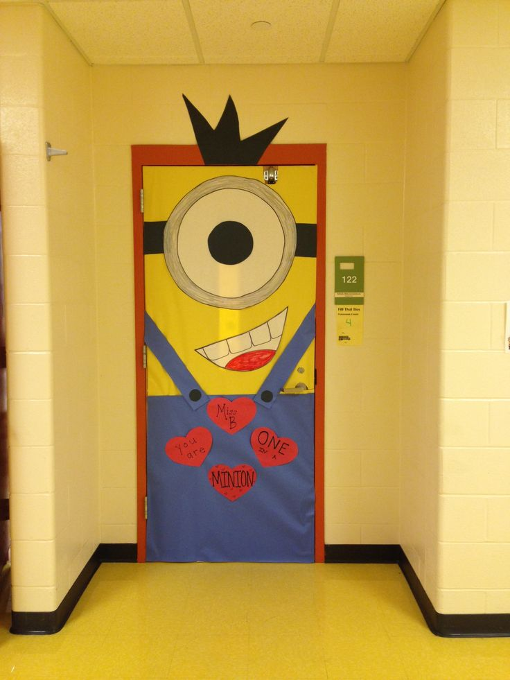 Minion Classroom Door Decor ~ Minion door decor classroom setup pinterest
