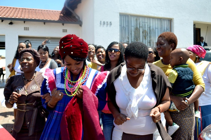South African Pedi Wedding...