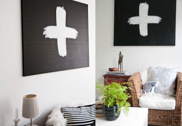 kruis-kunst canvas