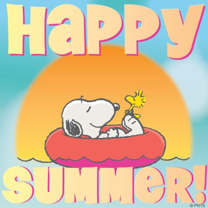 Happy Summer | SNOOPY and friends | Pinterest