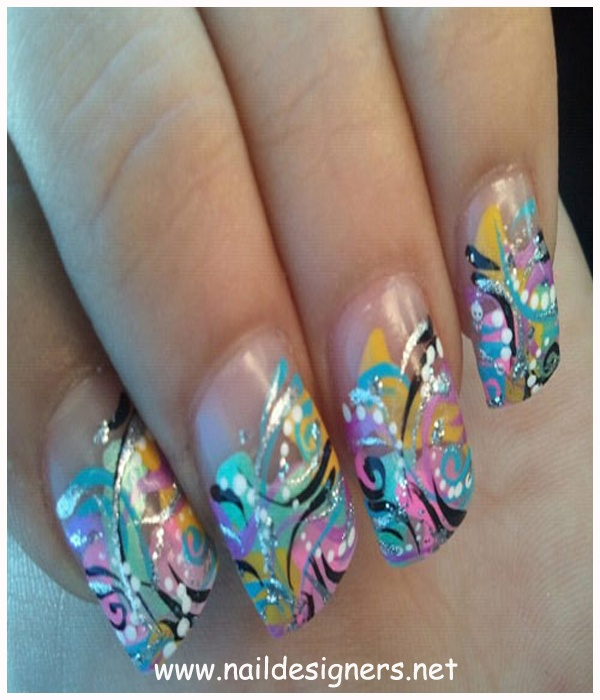 Creative Easy Nail Art Ideas: 192 Best Images About Nails On Pinterest
