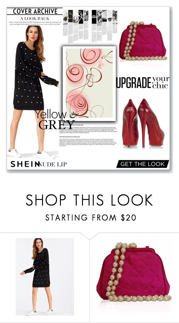 """Bez naslova #93"" by senija98 ❤ liked on Polyvore featuring Chanel and Christian Louboutin"