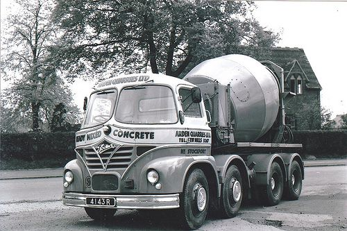 FODEN  old cement mixer
