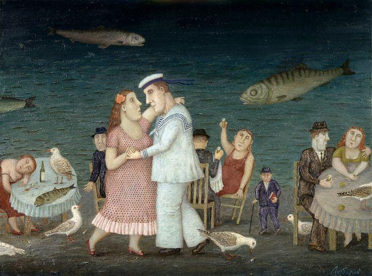 """Below the level of the sea"" Vladimir Lyubarov"