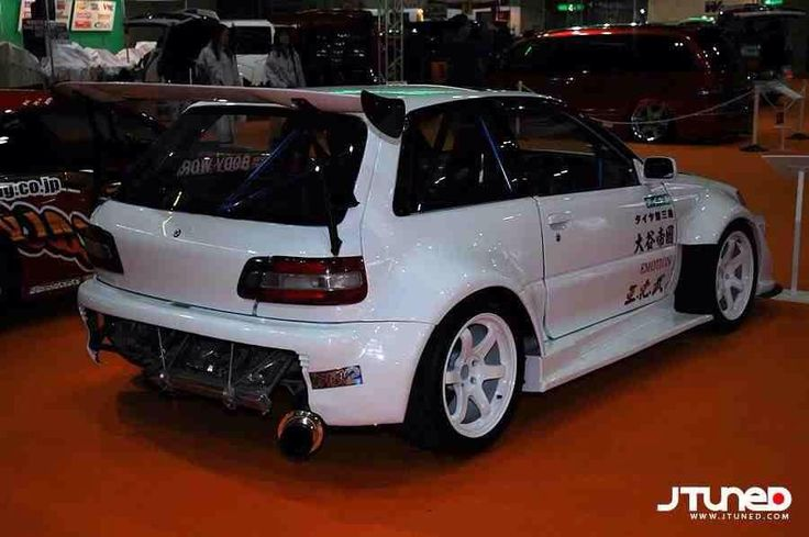 Toyota Supra 1987 Tuning >> Toyota Starlet GT Turbo, EP80, MkIV, extensive modifications and wide arch body kit | Toyota ...