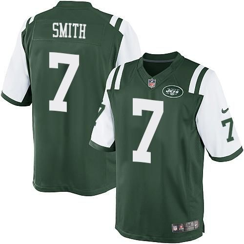 Nike Jets #7 Geno Smith Green Team Color Men's Stitched NFL Limited Jersey 40% Off NFL Jerseys + Free Shipping on Orders Over $50