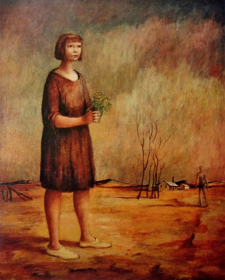 Country Child c. 1948:  GEORGE RUSSELL DRYSDALE (1912-81) AUSTRALIA: