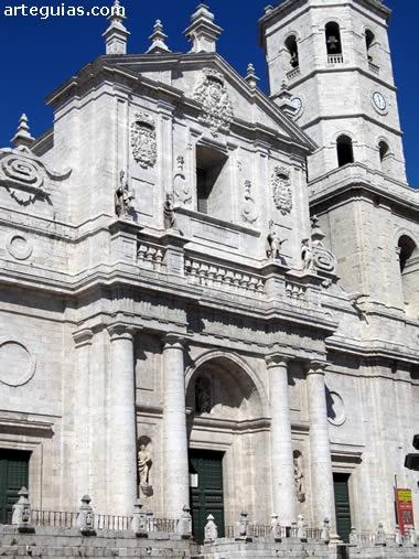 Fachada de la Catedral de Valladolid: Ses Paysages