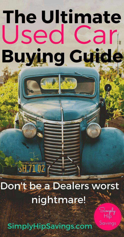 Gebrauchtwagen-Einkaufsführer: Insiders Guide – #carbuying #CarBuyingTips #Gebr…