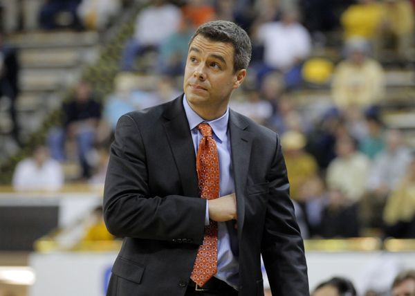 University of Virginia basketball coach Tony Bennett is quickly becoming my new favorite ncaa men's basketball coach.