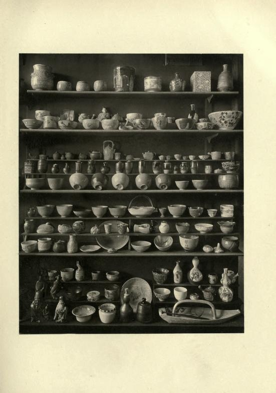 From old catalog on Japanese pottery