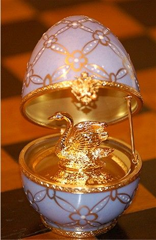 Musical Swan OEUF FABERGE