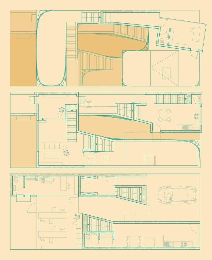 Yusti Gómez Herrera - Two Parisian Houses