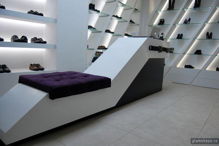 Charme luxury shoe boutique, Bucharest: Stores Design, Retail Design, Shoes Boutiques, Luxury Shoes, Boutiques Bucharest, Shoes Shops, Shoes Mood, Eye