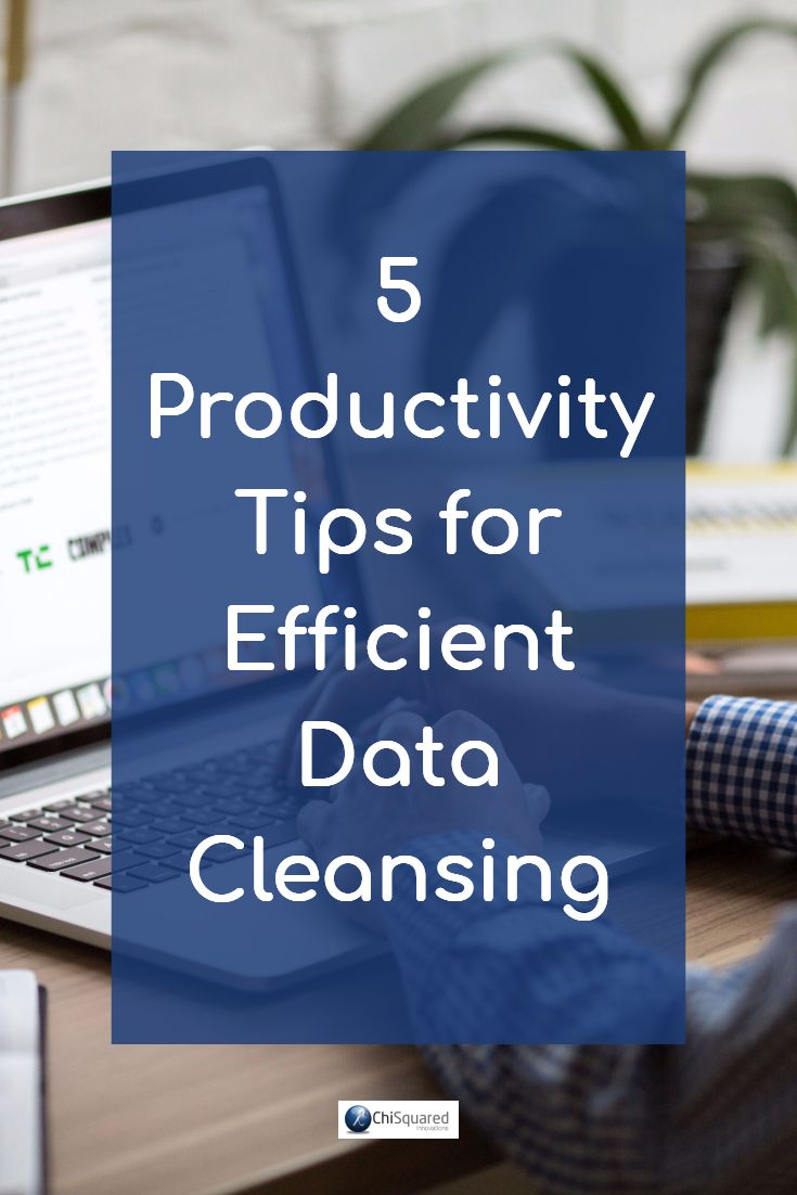 Fed up with how long you spend doing your data cleaning? Get our 5 Productivity Tips for Efficient Data Cleansing and get more done
