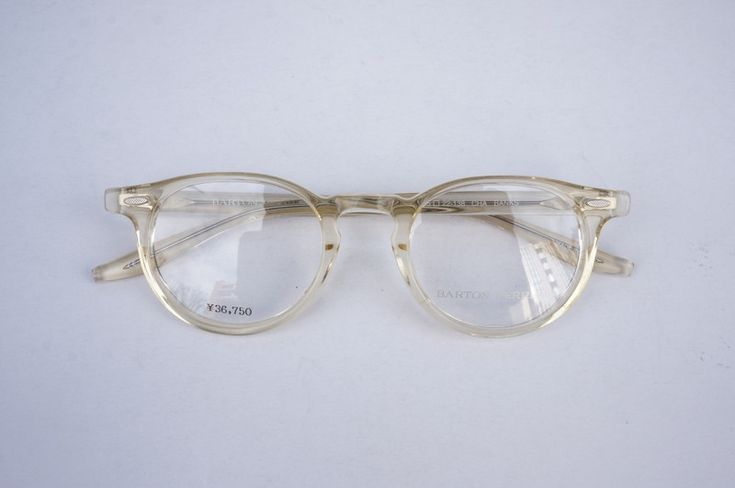 BARTON PERREIRA-BANKS-CHAMPAGNE | eyewear | optician | ポンメガネWEB
