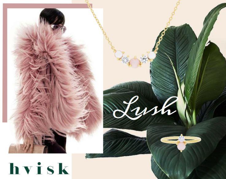 Beautiful jewelry   #lush #pink #hvisk #hviskstylist #hviskblogger #blogger #fashionblogger