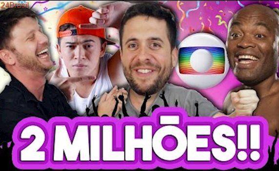 2 MILHÕES DE INSCRITOS! (com Whindersson Nunes, Daniel Zukerman, Anderson Silva e Rede Globo)