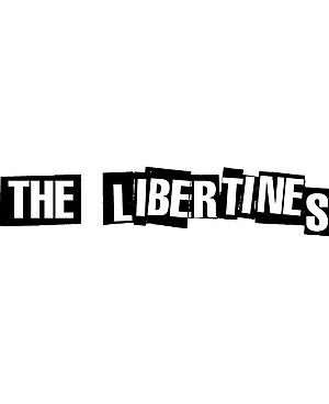 Photo: This ransom-note-style, Sex Pistols-inspired typeface appeared on both Libertines albums, 2002's 'Up The Bracket' and 2004's 'The Libertines'. Many obsessive Libs fans have been known to get the logo tattooed onto their skin.
