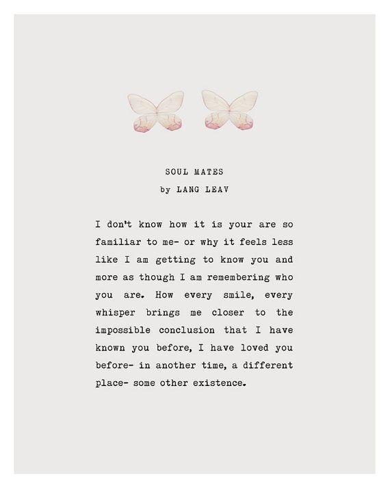 soul mates #poetry #love poem