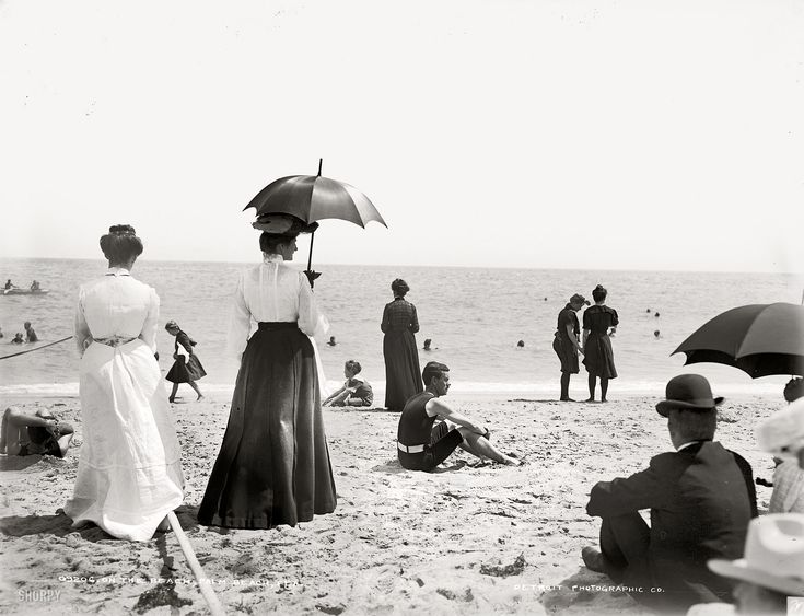 Shorpy Historical Photo Archive :: Palm Beach: 1905