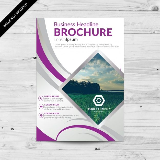 Diseño de plantilla de folleto Vector Gratis