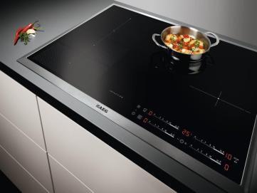 6 produtos para melhorar a sua cozinha  -  High-Tech Girl   Cozinha. Placa de indução Maxisense Plus, da AEG