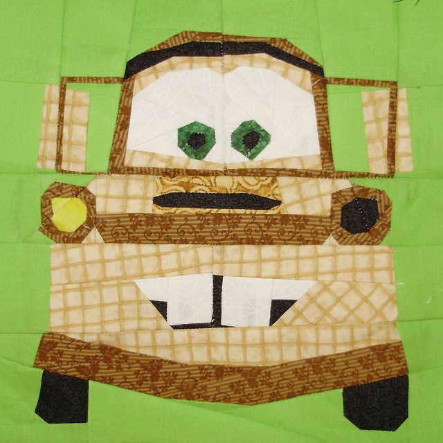 CARS PAPER PIECING!!!!Towing Mater, Cars Paper, Paper Piecing, Foundation Piece, Quilt Block, Paper Piece, Boys Quilt Pattern, Piece Pattern, Baby Quilt