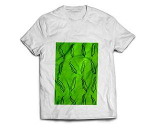 Hand painted green beans T-shirt