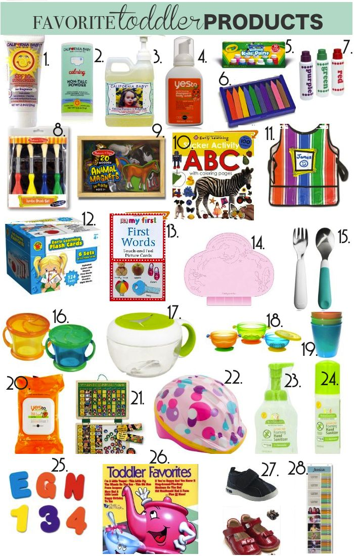From Mrs. to Mama: Toddler Must Haves