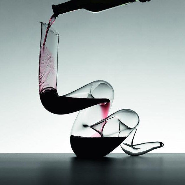 Boa Wine Decanter by Riedel / Introduced especially for the Chinese year of the Snake, this gorgeous Boa Wine Decanter by Riedel opens up your wine flavor in no matter of time. http://thegadgetflow.com/portfolio/boa-wine-decanter-riedel/