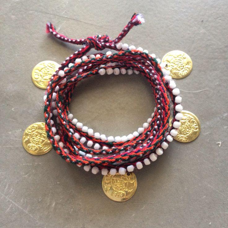 Snake wrap bracelets / Hermina wristwear and more Boho gypsy jewelry fashion style friendship bracelet