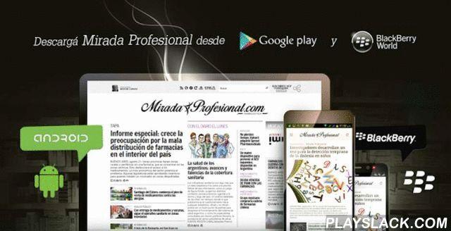 """Mirada Profesional  Android App - playslack.com , Lanzamos un nuevo formato, con nuevas secciones y el mismo compromiso con la información. La próxima plataforma audiovisual a punto de estrenar. Una de las apuestas para seguir creciendo. Una nueva pantalla y nuevo equipo que queremos compartir con nuestros lectores, para seguir informando sobre la profesión farmacéutica.Como creía el notable y muy amigo de la casa; Oscar Wilde: """"El progreso es la realización de las utopías"""". Hace unos años…"""