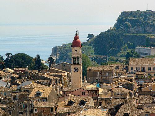 Corfu City, Greece.  http://www.worldheritagesite.org/sites/corfu.html