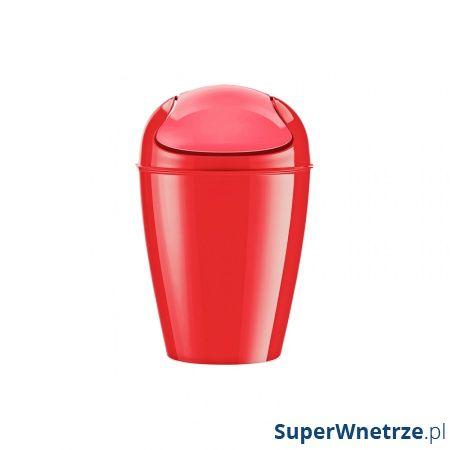 Kosz na śmieci Koziol Del XS czerwony KZ-5778555