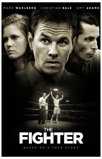The Fighter Victory Wahlberg Bale Adams Movie Poster 11x17
